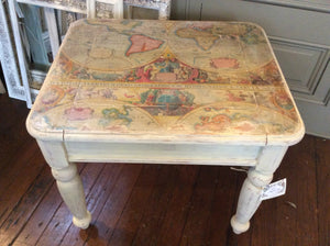 Map End Table