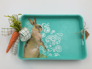 Aqua Tray with Bunny