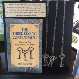 The Three Keys to Contentment by Marcia Rowe - Paperback Book