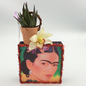 """Frida"" Orchid Collage"