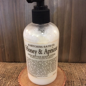 Honey & Apricot - Shea Butter Body Lotion (8 oz.)