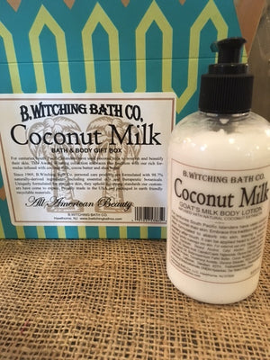 Coconut Milk - Goat's Milk Body Lotion (8 oz.)