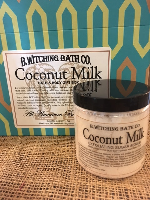 Coconut Milk - Exfoliating Sugar Scrub (8 oz.)
