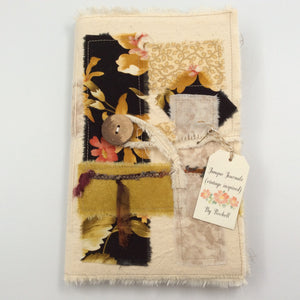 Patchwork Soft Cover Journal - Gold