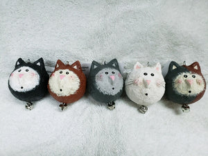 Paper Mache - Calico Cat Ornament