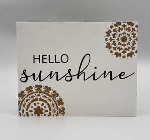 Hello Sunshine Panel