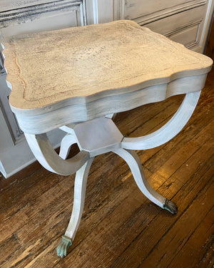 Grey Clover Top End Table
