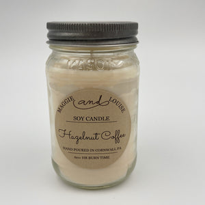 Hazelnut Coffee Soy Candle by Maggie and Louise