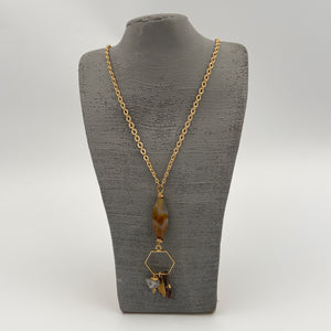 Necklace with Decorative Pendant