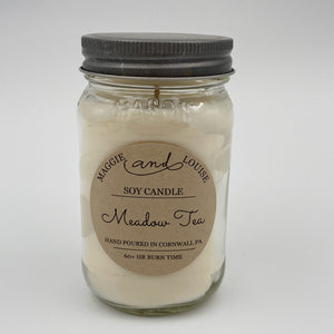 Meadow Tea Soy Candle by Maggie and Louise