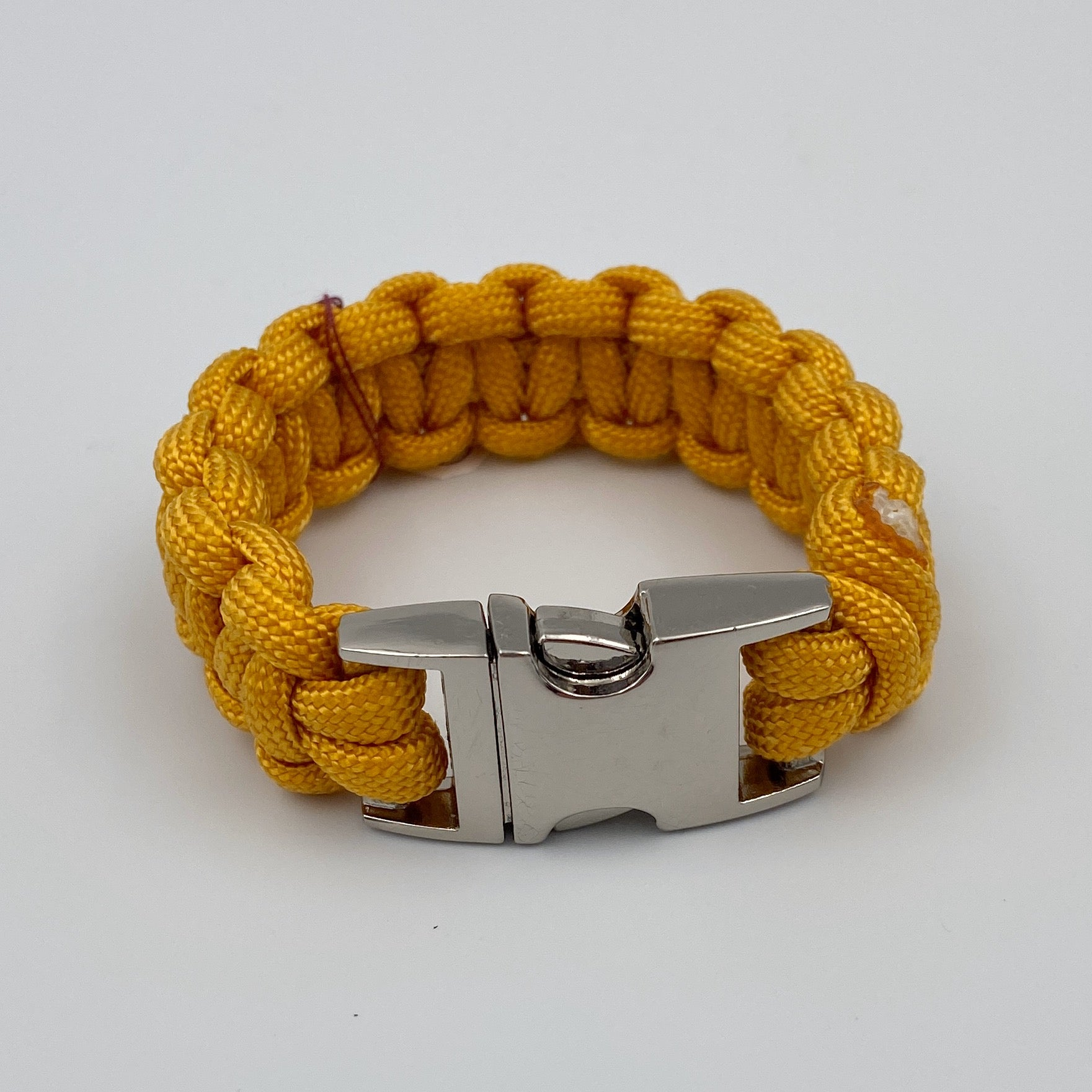 Paracord Bracelet with Assorted Clasp