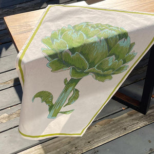 Floursack Kitchen Towel - Artichoke, Set of 2