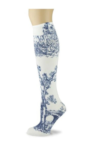 Sox Trot Adult Knee Highs - Lithograph