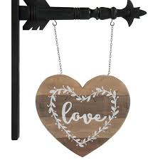 Love Wood Heart with Planter Box - Arrow Replacement