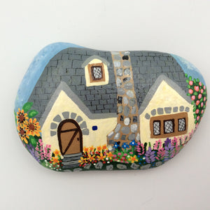 Rock House - Hand Painted by Nancy Miller