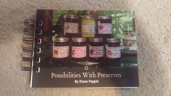 Possibilities with Preserves by Diane Pepple - Paperback Book