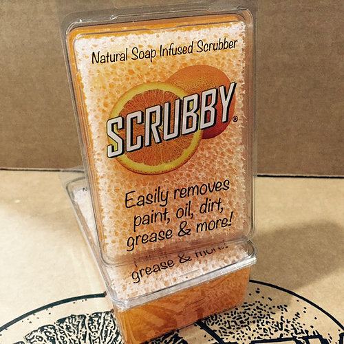 Scrubby Soap - Orange