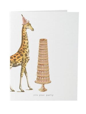 TokyoMilk Card - It's Your Party (Giraffe)