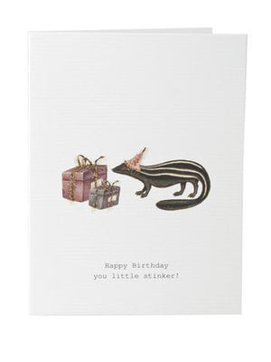 TokyoMilk Card - Happy Birthday (Little Stinker)
