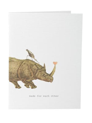 TokyoMilk Card - Made for Each Other (Rhino)