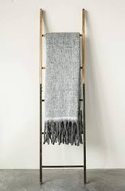 Grey & White Mohair & Acrylic Throw DA8204