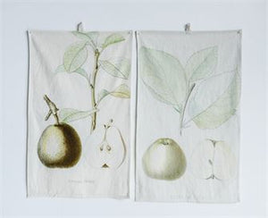 Pear Cotton Tea Towel