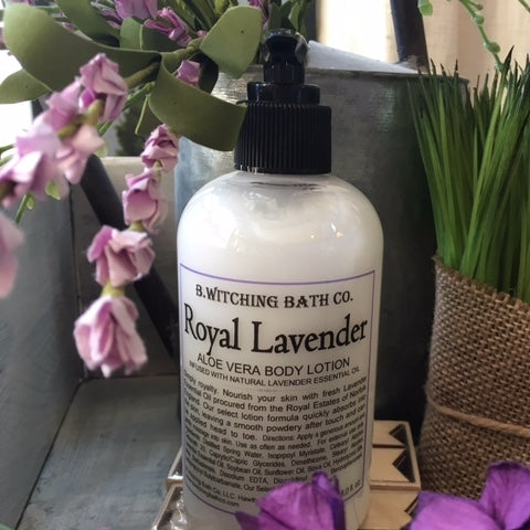 Royal Lavender - Aloe Vera Body Lotion (8 oz.)