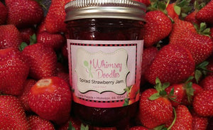 Whimsey Doodles - Spiced Strawberry Jam