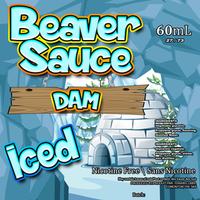 Dam Iced by Beaver Sauce 60ML