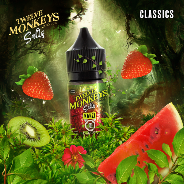 Kanzi Nic Salts by Twelve Monkeys 30ML