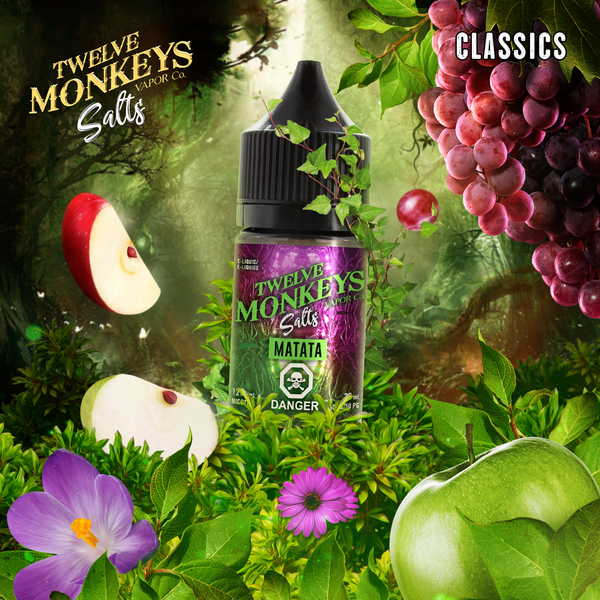 Matata Nic Salts by Twelve Monkeys 30ML