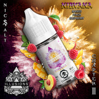 Nirvana Salt Nic by Illusions Vapor 30ML