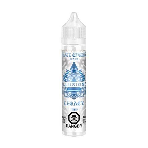 Taste of Gods Legacy by Illusions Vapor 60ML