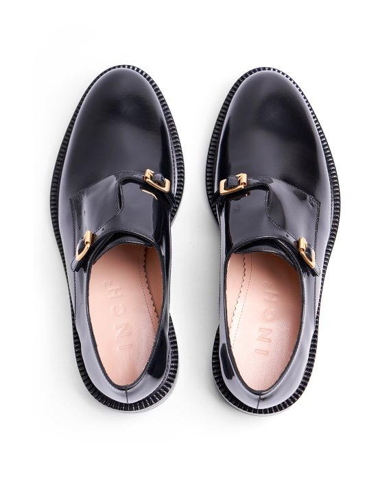 Inside Out Monk Shoes - I N C H 2