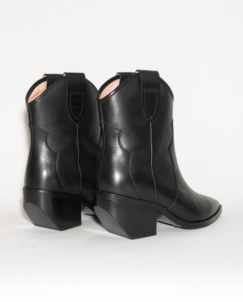 BLACK WESTERN BOOTS