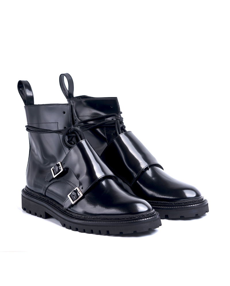 Lace-up Monk Boots - I N C H 2