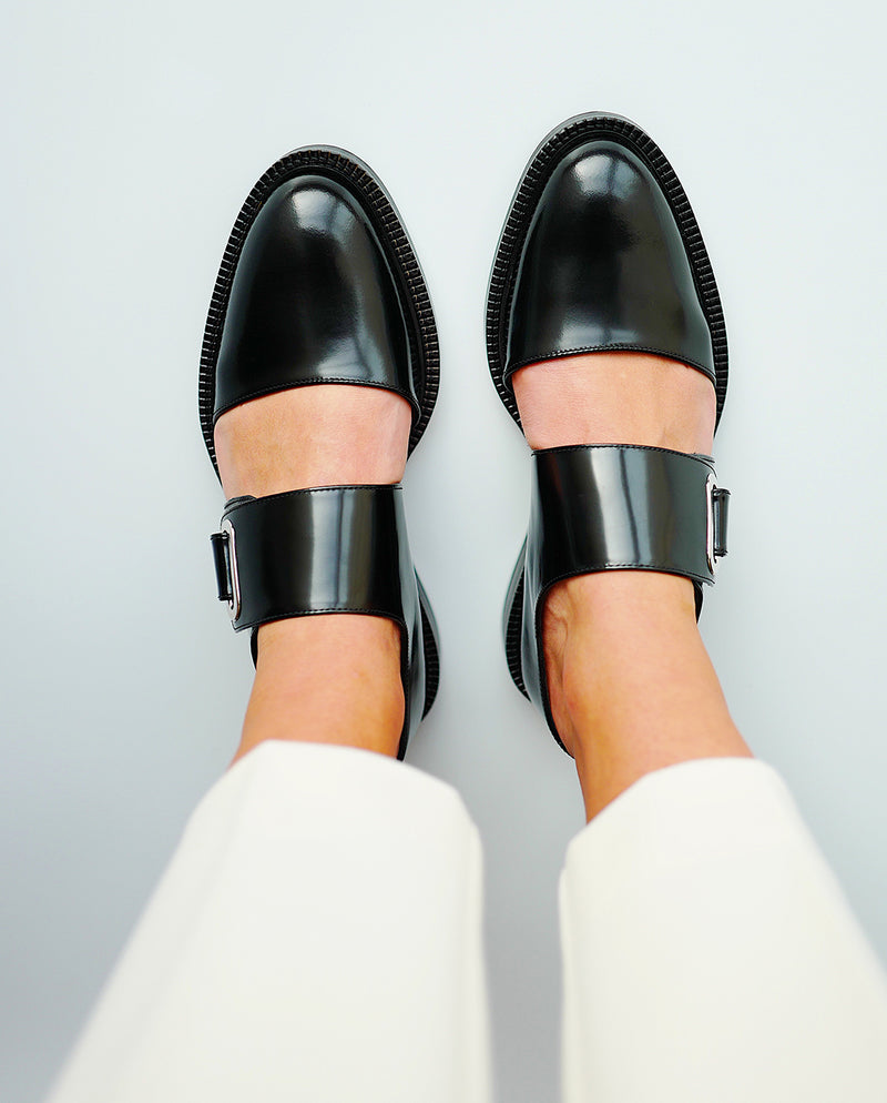 Black Pressed Shoes - I N C H 2