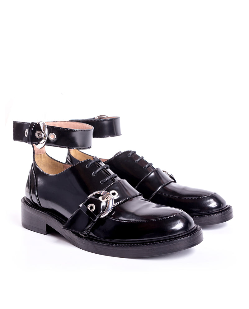 ANKLE STRAP LACE UP SHOES - I N C H 2
