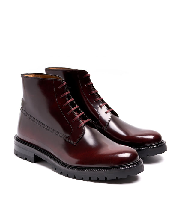 Burgundy Ankle Boots - I N C H 2