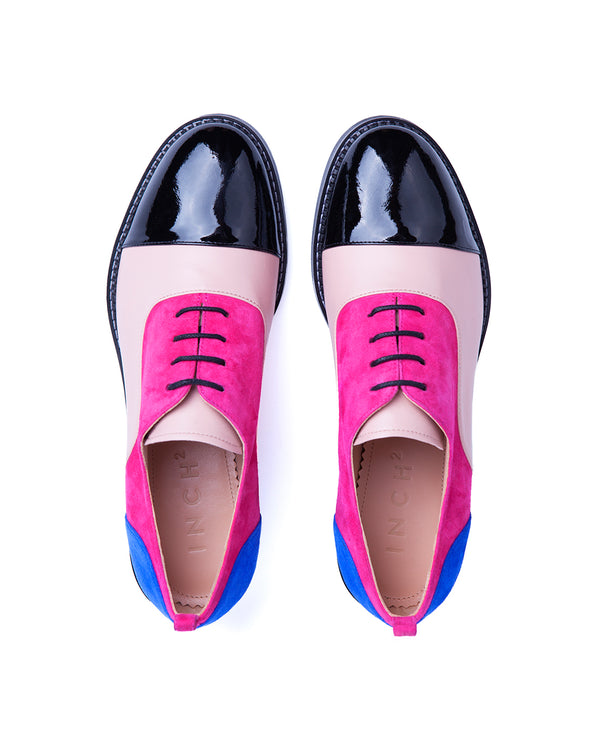 Pink Fringed Oxfords - I N C H 2