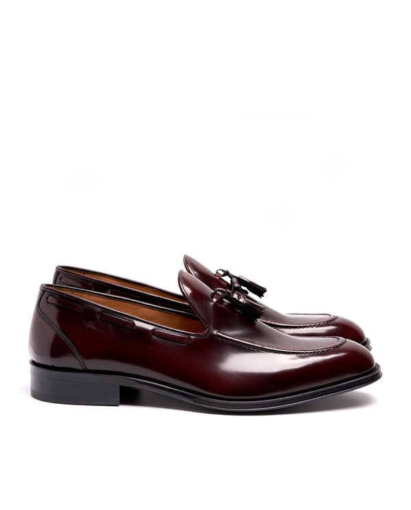 Burgundy Loafers - I N C H 2