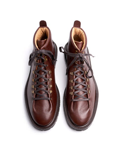 Brown Hiking Boots - I N C H 2