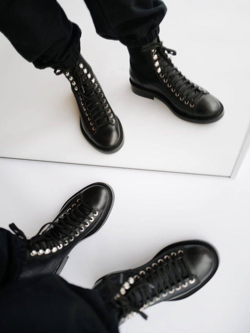 Caviar Ankle Boots - I N C H 2