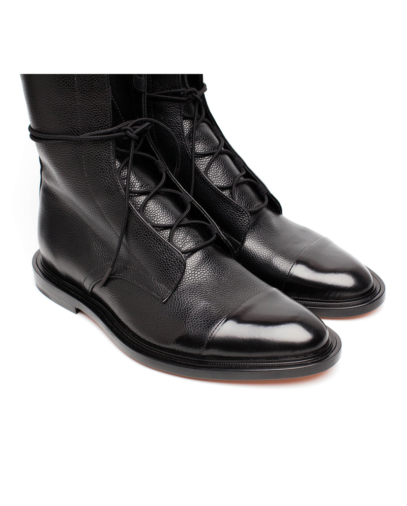 Leather Brogue Boots - I N C H 2