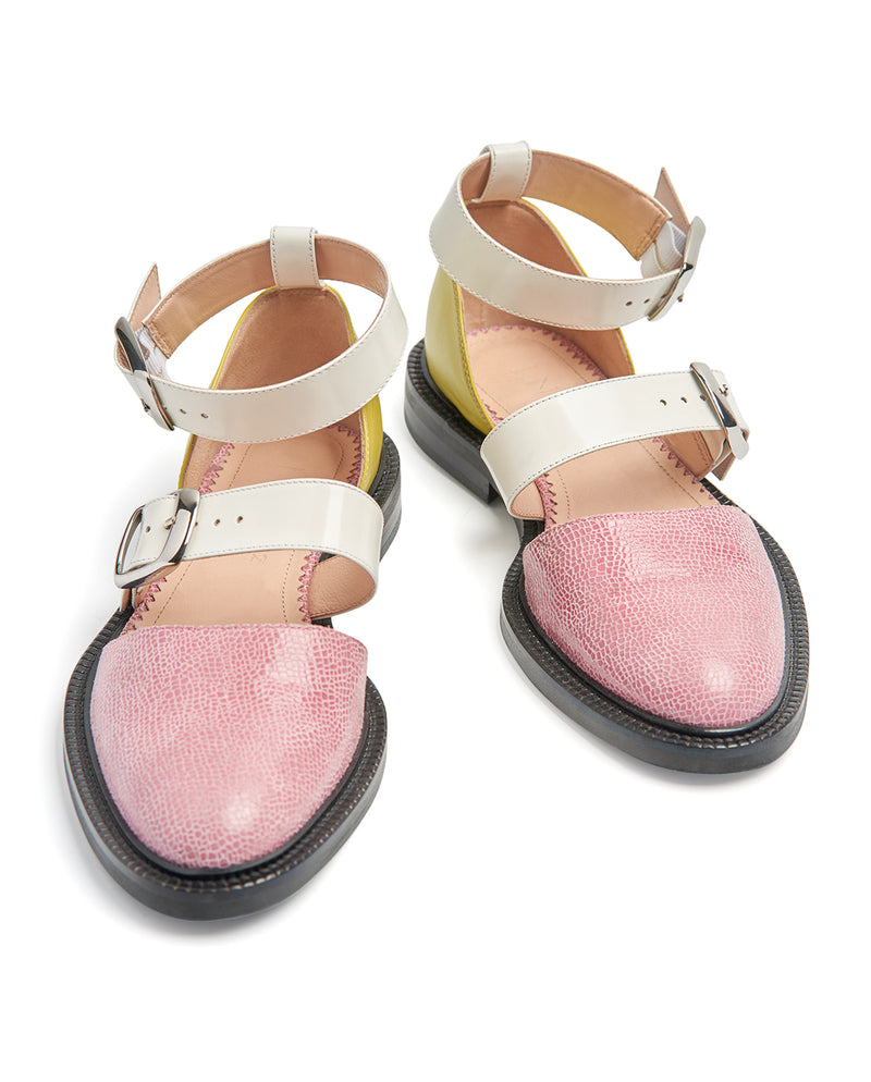 ROSE CLOSED TOE SANDALS