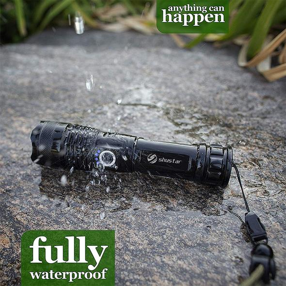 (50% Off End Very Soon)-Powerful Flashlight-Buy 2 Extra 20% Off&Buy 3 Get 1 Free