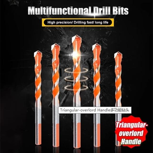 Last Promotion 60% OFF TODAY---Multifunctional Drill Bits(5pc)