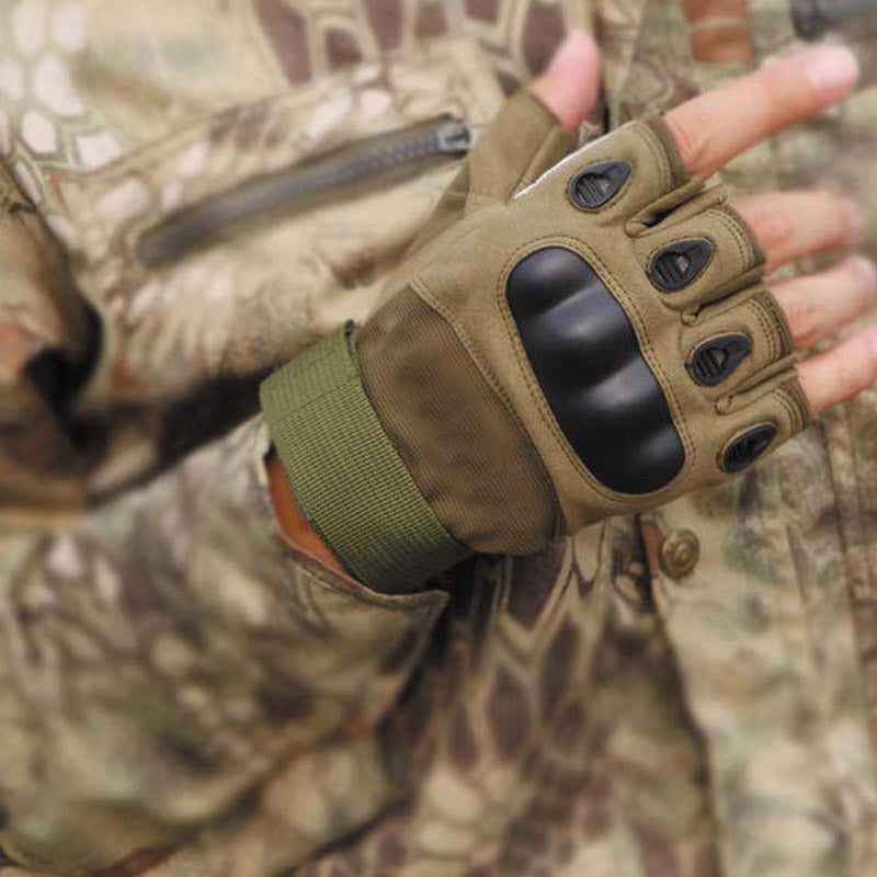 Tactical Gloves Military Outdoor Gloves Fit for Cycling Airsoft Paintball Motorcycle Hiking Camping