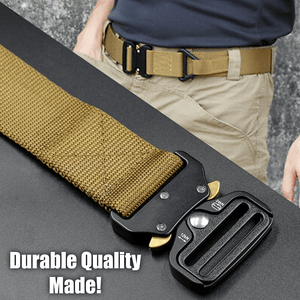 Today 50% OFF-- Military Style Tactical Nylon Belt