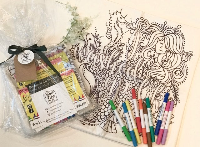 Pillow Art Gift Pack | The Good Life Creations